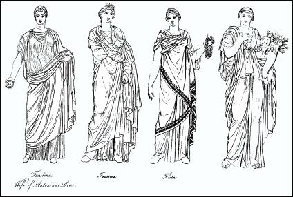 Roman Fashion on Roman Clothing Roman Clothing Was Designed To Reveal The Social Status